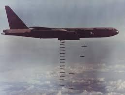 A B52 Bomber over Vietnam
