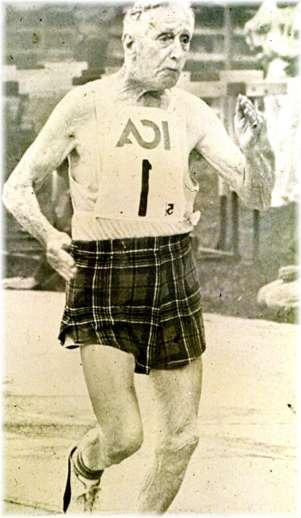Duncan Mclean: the Tartan Flash 93 yrs