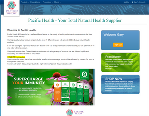 Pacific Health's Website