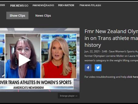 Fox News Interviews Lorraine Moller about Saving Women's Sport