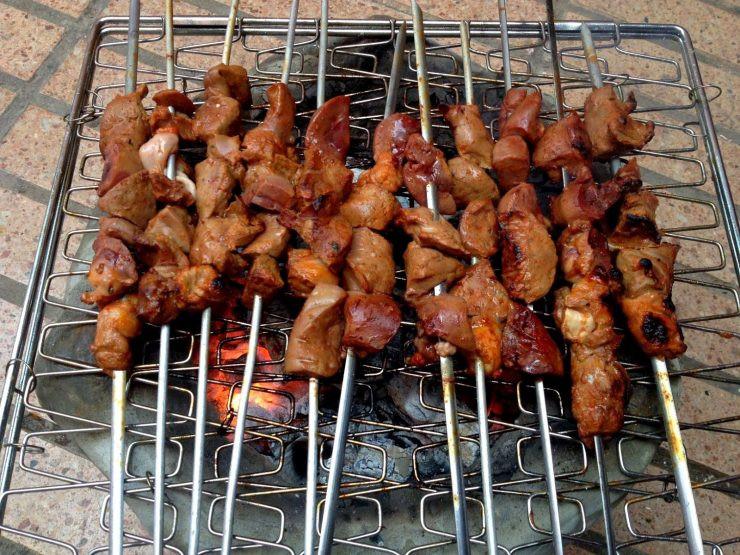 Liver Kebabs