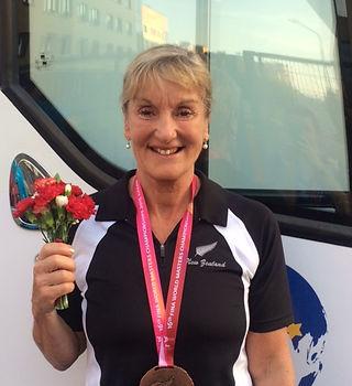 Jo Matthews Bronze Wld Swimming Butterfl