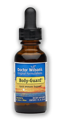 Dr Wilson's Body Guard - 30mls