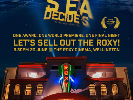 """We're inviting you to an evening at the movies: """"The Sea Decides""""!"""