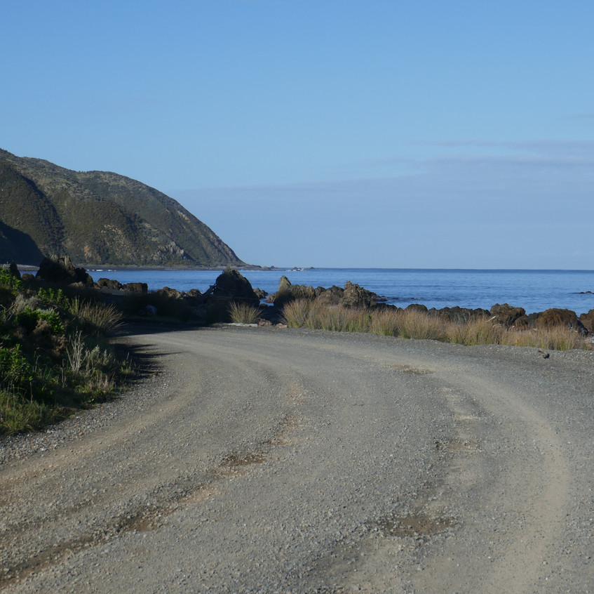 Heading to Pencarrow Lighthouse, Wellington Harbour entrance.