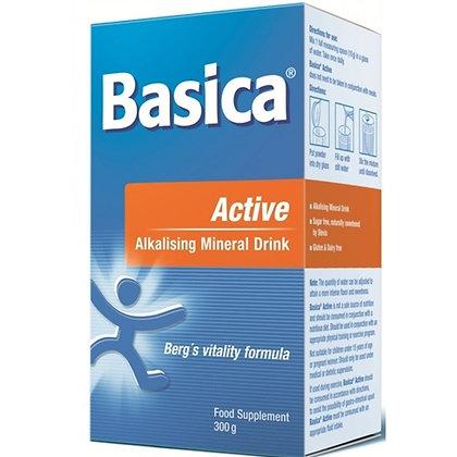 Basica Active Alkalising Mineral Drink - 300g