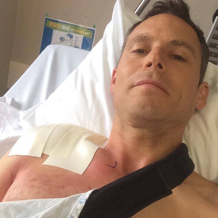 Christian Wengler recovering in hospital