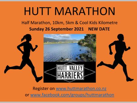 Hutt Half Marathon, 10km, 5km and Kid's Km