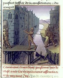 Horatius defending the last bridge