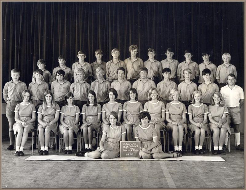 My class: Putaruru 1970