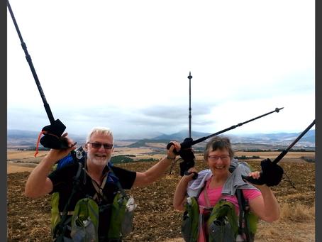Enjoying an active retirement walking the Camino de Santiago Pilgrim Route