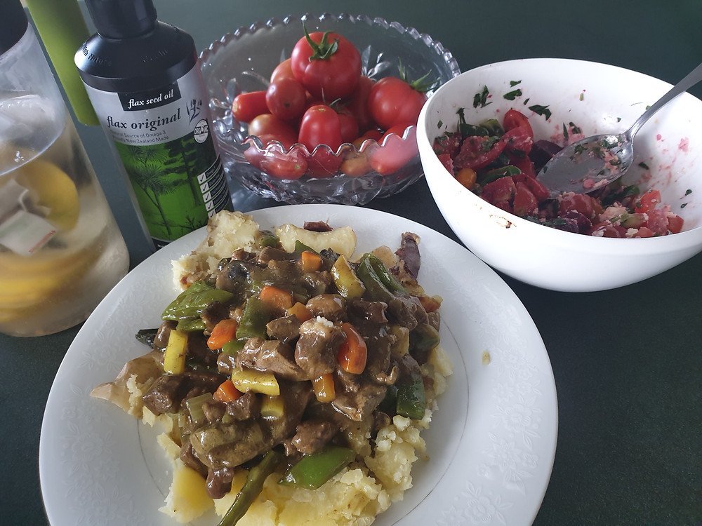 Alofa and Gary's dinner