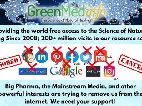 Here is an example of health censorship