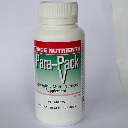 Trace Nutrients Para-Pack Vegan - 90 caps