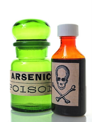 The emerald green that is arsenic