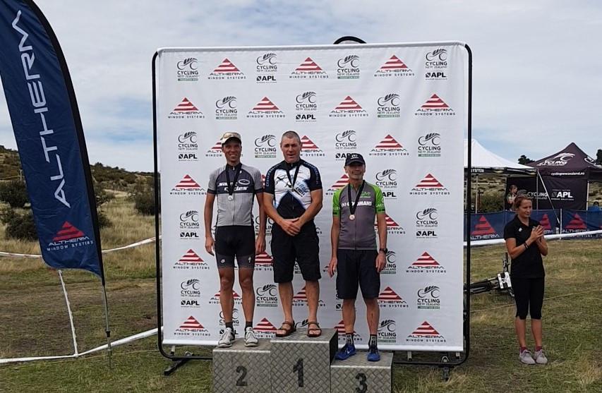 3rd place podium NZ MTB Champs