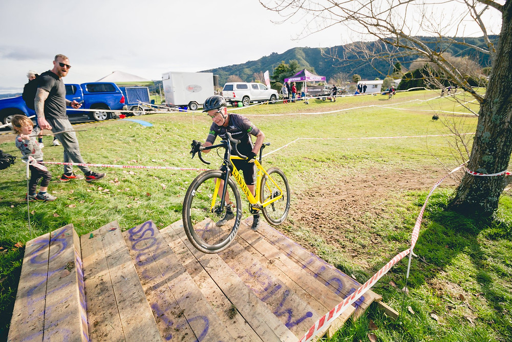 Gary racing cyclocross