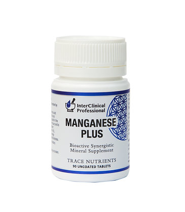 Interclinical Professional Manganese Plus - 90 caps NEW