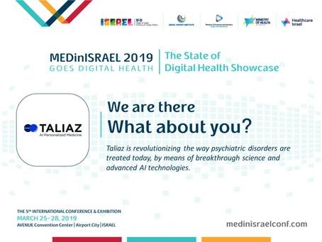 Mar 19 // Visit Taliaz at MEDinISRAEL 2019