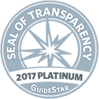 American Police Hall of Fame Platinum Seal of Transparancy by Guidestar