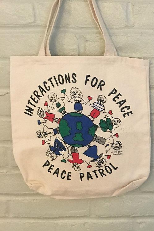 Vintage Peace Patrol Tote