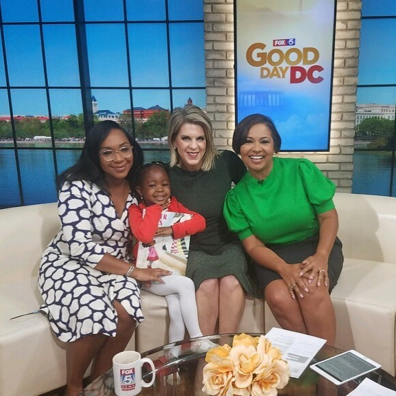 Thank you _fox5dc for having us on #Good