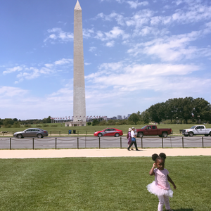 The Washington Monument at The National Mall (Washington, D.C.)
