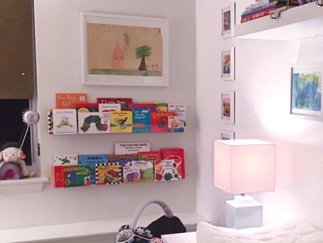 Baby Book Nook: Before + After
