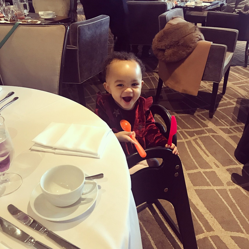 Happy Baby at The Four Seasons
