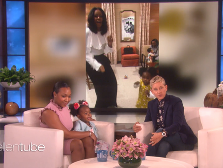 The Girls' First Trip to L.A. and Our Visit to The Ellen DeGeneres Show