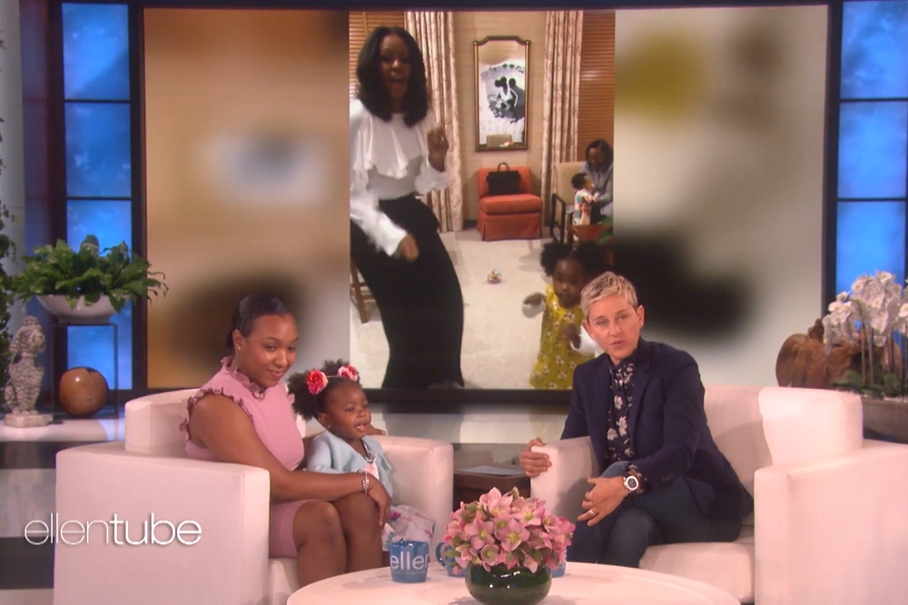 Parker Appears on The Ellen DeGeneres Show