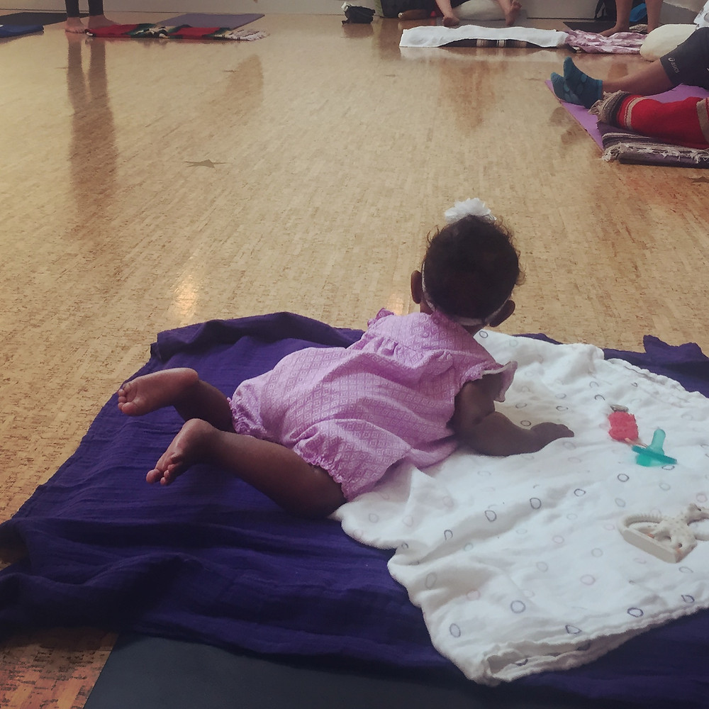 YogaWorks Baby and Me Yoga