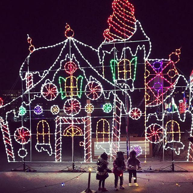 Symphony of Lights at Merriweather Post Pavilion