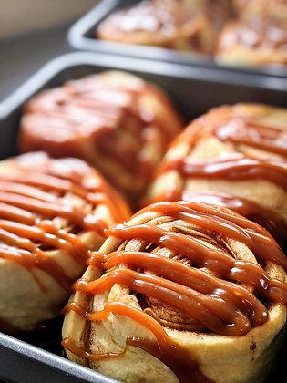 Caramel Apple Cinnamon Rolls (4)