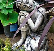 Garden Statue   Seated