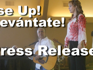 Rise Up!/¡Levántate!: Press Release!