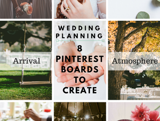 Wedding Planning [8 Pinterest Boards to Create]