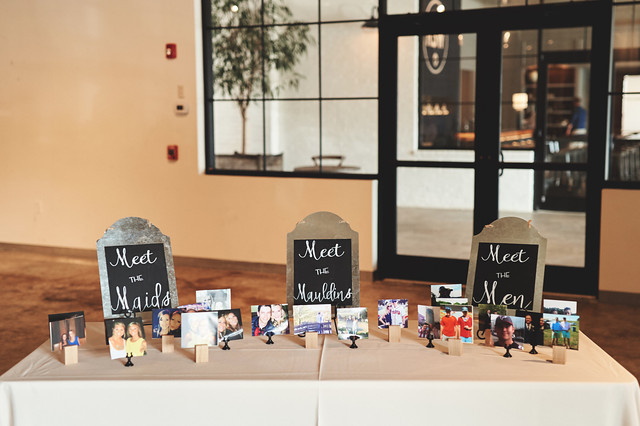 Bridal Party Station