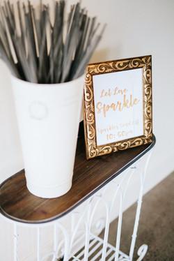 Let Love Sparkle Sign