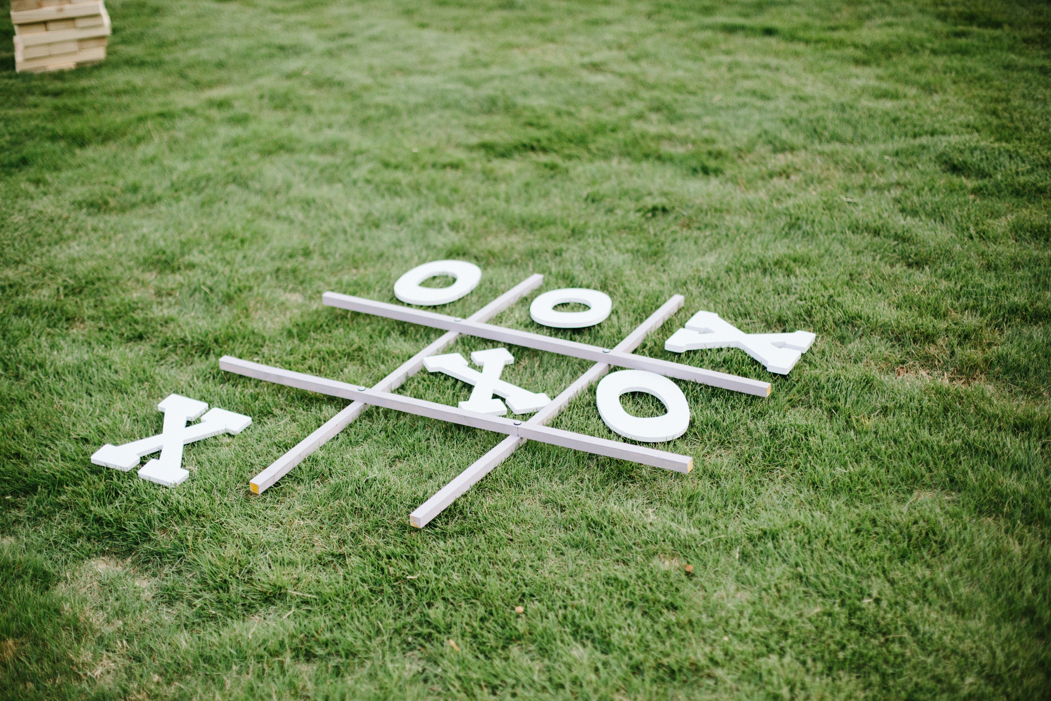 Tic Tac Toe Lawn Game