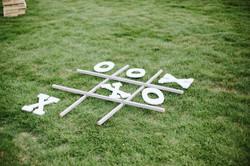 Tic Tac Toe Lawn Game
