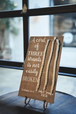 Cord of three strands