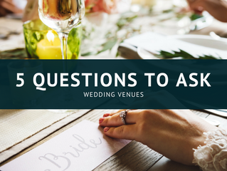 5 Questions to Ask Wedding Venues