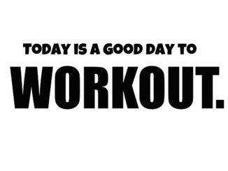 Daily Workout - August 24