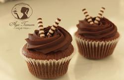 קאפקייקס שוקולד שוקולד