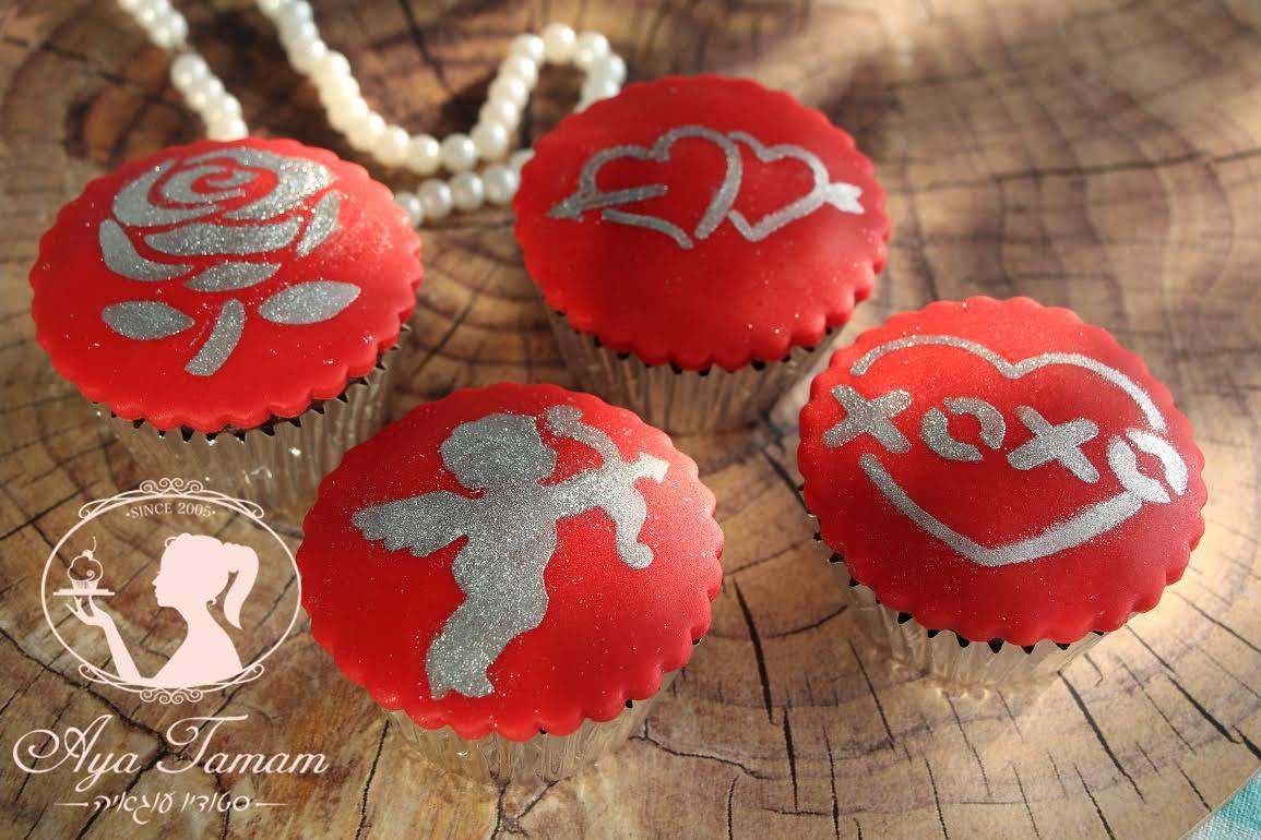 קאפקייקס בעיצוב אהבה.jpg