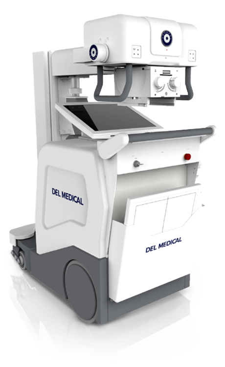 Del Medical Mobile, a diagnostic medical imaging equipment for digital radiography