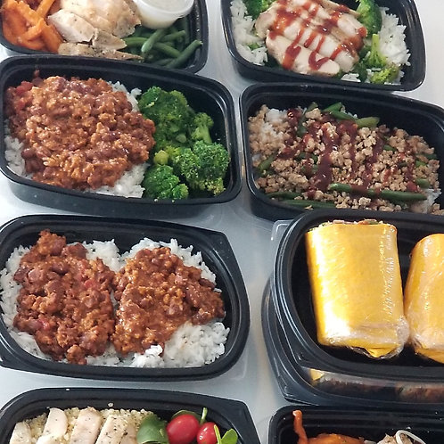 Muscle Growth Meal Plan {1 Month}