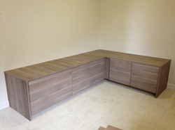 Seating Area with Storage