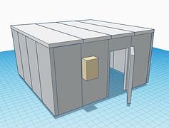Cámara de Frío productos refrigerados 4m x 4m
